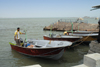 Iran -  Bandar Abbas: the speedboat to Hormuz island - photo by M.Torres