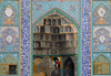 Iran -  Bandar Abbas: muqarnas at the main Sunni mosque - photo by M.Torres