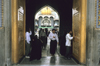 Iran - Qom: entrance to the Fatima al-Masumeh Shrine - photo by W.Allgower