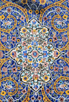 Iran - Tehran - bazar mosque - tiles - photo by M.Torres