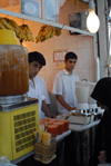 Iran - Tehran - juice stall in the bazaar - photo by M.Torres