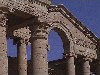 Iraq - Hatra (Ninawa province): architecture - Unesco world heritage site (photo by A.Slobodianik)