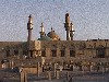 Iraq - Baghdad: four minarets at the Kadhimain/ Khadimmiya mosque (photographer: Alejandro Slobodianik)