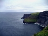 Ireland - Moher cliffs (county Clare): from above. (photo by R.Wallace)