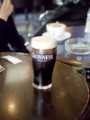 Dublin: beer - stout - a pint of Guiness  (photo by M.Bergsma)