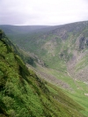 Ireland - Glendalough (county Wicklow): path up the valley (photo by R.Wallace)