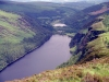 Ireland - Upper Lake Glendalough (county Wicklow): from above (photo by R.Wallace)