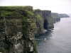 Ireland - Moher cliffs  (county Clare): rock walls - looking south towards Hag's Head (photo by R.Wallace)
