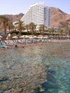 Israel - Eilat: beach front - Princess Hotel, five star near the Egyptian border - Red Sea - photo by Efi Keren