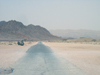 Israel - Dead sea: road to nowhere - photo by Efi Keren