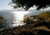 Israel - Sea of Galilee / Lake Tiberias: fall - called 'Sea of Kinneret' in the Bible - photo by E.Keren