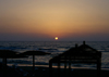 Israel - Caesarea - Hadera: Givat Olga beach - dusk - photo by Efi Keren