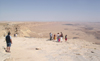 Israel - Mitzpe-Ramon: Ramon Crater - edge of the crater - photo by E.Keren