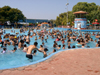 Israel - Shfaim: water park - crowded day - photo by E.Keren