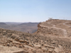 Israel - Mitzpe-Ramon: Ramon Crater - path along the crater - photo by E.Keren