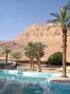 Israel - Dead Sea - Ein Bokek: Meridien Hotel - pool - photo by Efi Keren