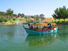 Israel - Rahanana, Center District: park - day off - boat on the pond - photo by E.Keren