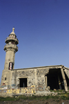 Israel - Golan Heights: ruins of a Syrian mosque - photo by W.Allg�wer