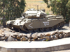Israel - Golan Heights: old Centurion tank of the Tsahal - British Main Battle Tank, left over from the Six-Day War - Third Arab-Israeli War - photo by M.Bergsma