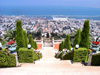 Haifa, Israel: gardens on mount Carmel- Har Ha'Karmel - Jabal Mar Elyas - photo by E.Keren