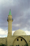 Israel - Akko / Acre: mosque by the harbour - photo by J.Kaman