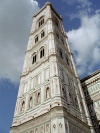 Italy / Italia - Florence / Firenze (Toscany / Toscana) / FLR : Duomo - Giotto's marble-clad campanile - tower  (photo by M.Bergsma)