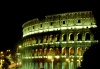 Italy / Italia - Rome: il Colosseo Romano - the coliseum - nocturnal (photo by M.Bergsma)