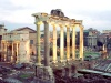 Italy / Italia - Rome / Roma: Roman Forum - Temple of Saturn / Forum Romanum - photo by M.Bergsma