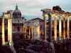 Italy / Italia - Rome: Roman Forum - evening - photo by M.Bergsma