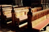 Italy / Italia - Florence / Firenze (Toscany / Toscana) / FLR : Cathedral pews (photo by  J.Rabindra)