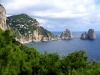 Italy / Italia - Capri island (Campania - Napoli province): three brothers (photo by H.Waxman)
