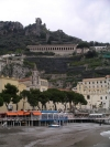 Italy / Italia - Amalfi: the beach - Costiera Amalfitana - Unesco world heritage site (photo by R.Wallace)