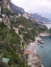 Italy / Italia - Amalfi: nearby coast (photo by R.Wallace)