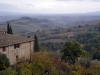 Italy / Italia - Tuscany / Toscana: San Gimignano hilltop village: view of the Tuscan countryside - Unesco world heritage site (photo by Austin Kilroy)