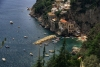 Italy / Italia - Amalfi (Campania, Provincia di Napoli): harbor from above (photo by M.Gunselman)