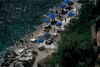 Italy / Italia - Amalfi (Campania): man made beach (photo by M.Gunselman)