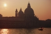 Italy / Italia - Venice: Santa Maria della Salute Church at dawn / Chiesa di Santa Maria della Salute (photo by M.Gunselman)