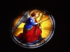 Italy / Italia - Umbria: stained glass - stain glass - vitral - angel (photo by Emanuele Luca)