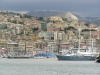 Italy / Italia - Genoa / Genova / GOA (Liguria):  yachts and the city (photo by J.Kaman)