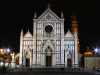 Italy / Italia - Florence / Firenze (Toscany / Toscana) / FLR : Basilica di Santa Croce di Firenze - Basilica of the Holy Cross - Franciscan church - Piazza Santa Croce - nocturnal - photo by M.Bergsma