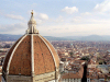Italy / Italia - Florence / Firenze (Toscany / Toscana) / FLR : dome and city - view from the cathedral's campanile - cupola - Duomo de Santa Maria del Fiore (photo by M.Bergsma)