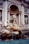 Italy / Italia - Rome (Lazio): Trevi fountain - artist: Nicola Salvi - photo by M.Torres