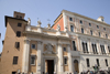 Rome, Italy: Santa Maria in Via in Piazza San Silvestro - photo by I.Middleton
