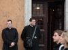 Rome, Italy - idle priests - photo by A.Dnieprowsky / Travel-images.com