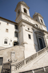Rome, Italy: Trinita Church in Rome - photo by I.Middleton