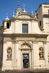 Rome, Italy: Piazza San Silvestro - church - photo by I.Middleton