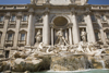 Rome, Italy: Fontana di Trevi and Palazzo Poli - photo by I.Middleton