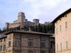 Italy / Italia - Assisi, Perugia - Umbria: Rocca Maggiore fortress on top of the Mount Subasio - photo by M.Bergsma