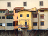 Florence / Firenze - Tuscany, Italy: Ponte Vecchio detail of houses - photo by M.Bergsma