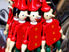Florence / Firenze - Tuscany, Italy: Pinocchios for sale - Carlo Collodi the writer of the Pinocchio books was a Florentine - photo by M.Bergsma